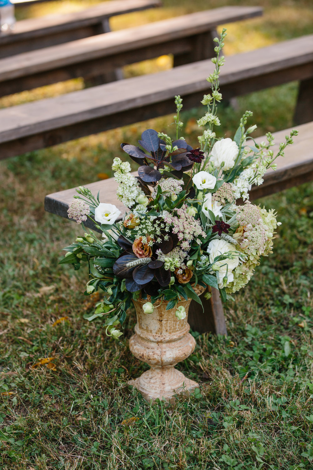 Fall Bloomsbury Farm Wedding - Nashville, TN