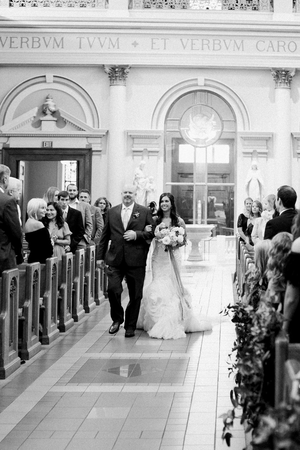 Cathedral of Incarnation - October Wedding - Nashville, TN