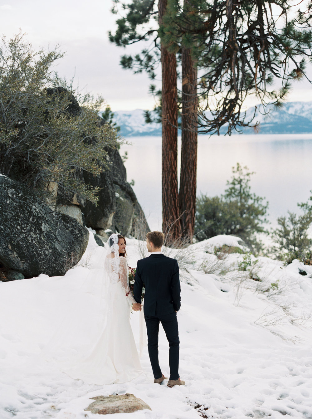 Logan's Shoals Winter Elopement in Lake Tahoe, NV - Coston & Co.