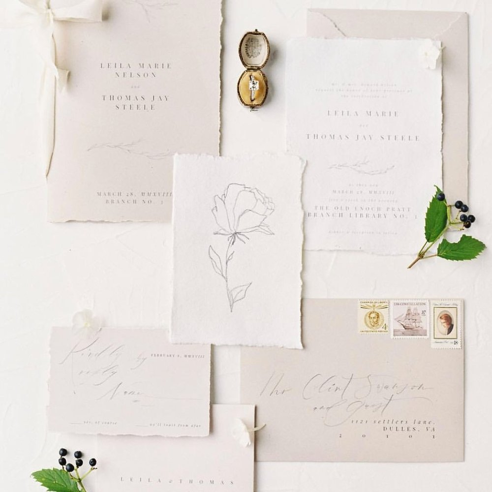 Planned by   East Made Event Company ,  Photo by     M    ichael and Carina ,  Stationery by   Script and Vine