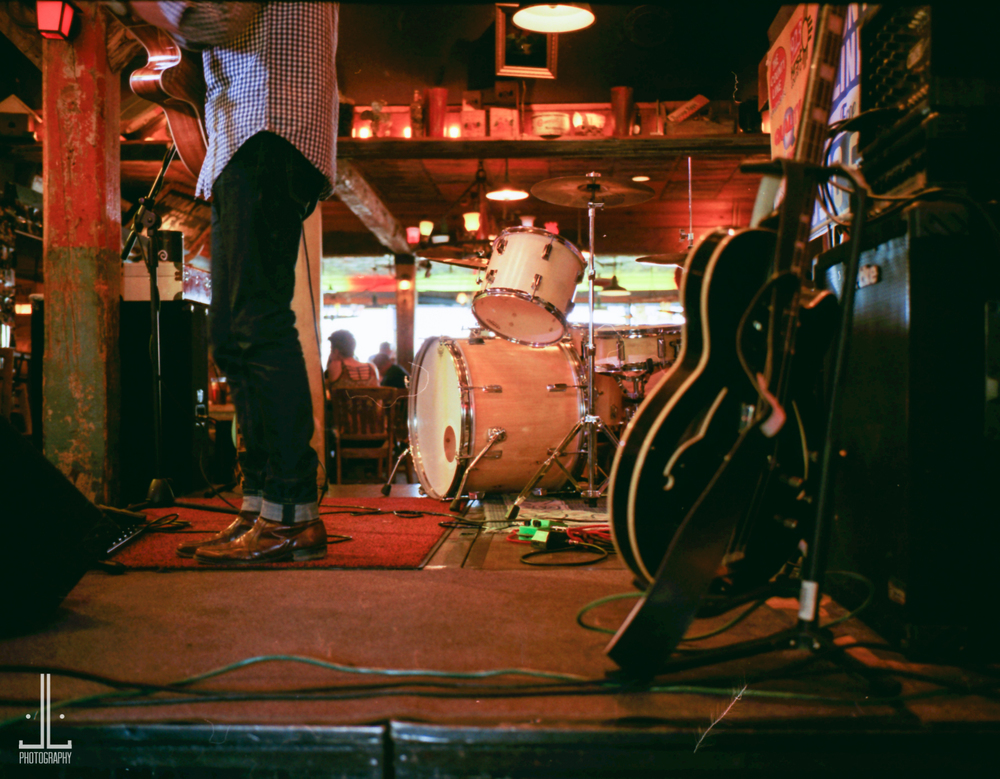 Kyle Ruggles at County Line. Leica M2 with Fuji Superia 800asa