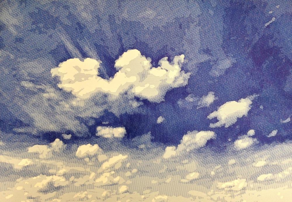 Plinio Avila    Nube 1   Tinta sobre papel
