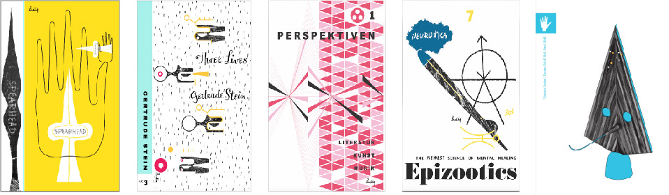 Edgar Orlaineta   Spearhead, Three Lives, Perspektiven 1, Epixootics, Graphic Design
