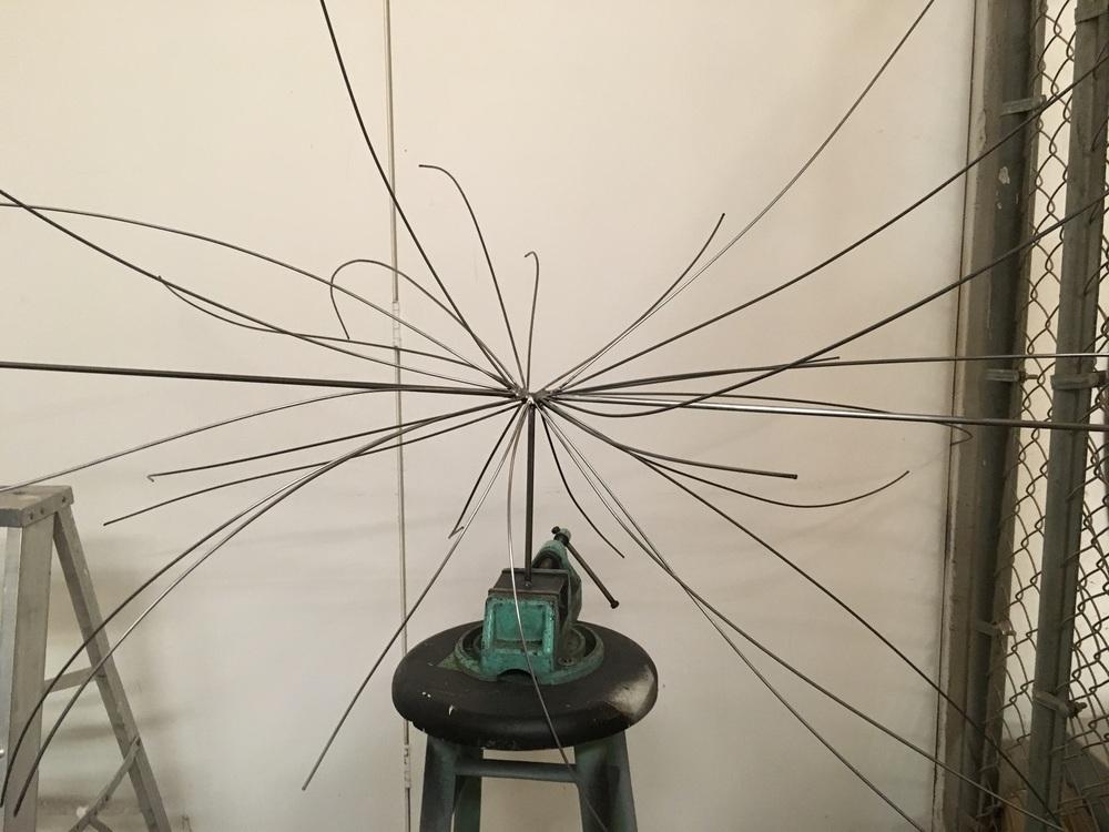 Plinio Avila Bosón de Higgs (Acero y varilla)