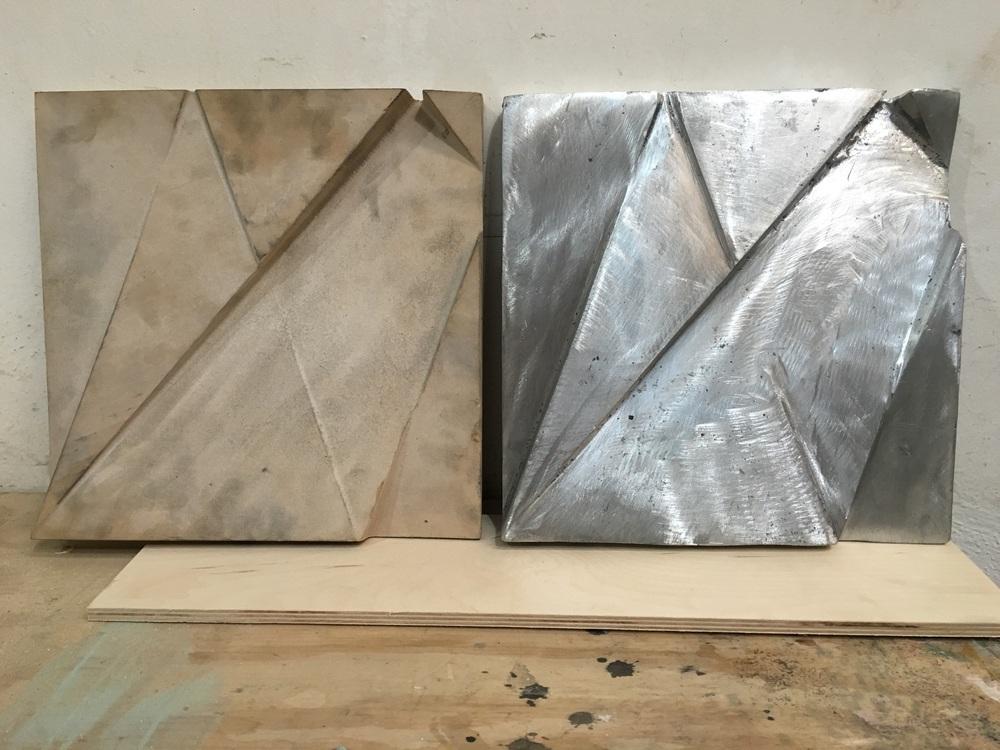 Humberto Márquez Madera y fundicion en Aluminio