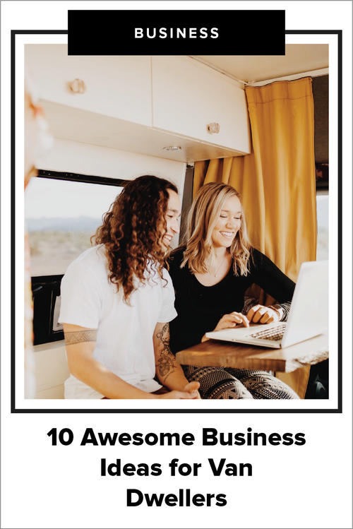 10 Awesome Business Ideas for Van Life — Dynamo Ultima