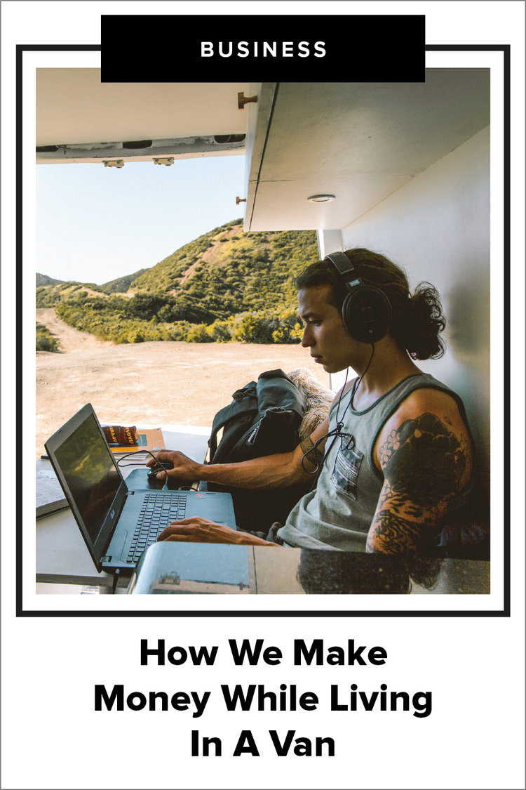How We Make Money While Living In A Van — Dynamo Ultima | Branding