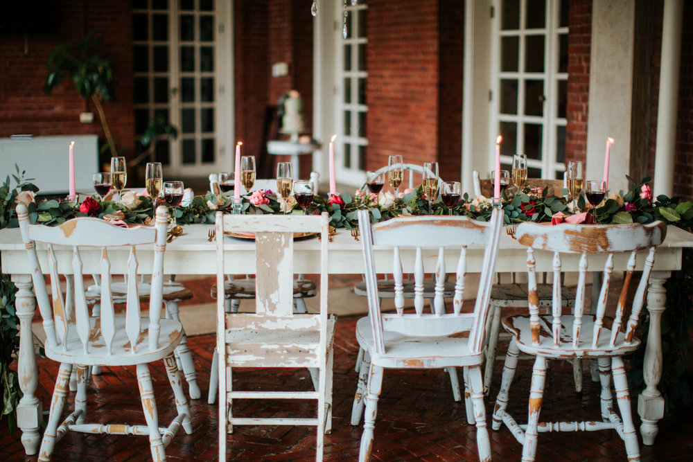 Mismatched Chairs -Spruce Rentals