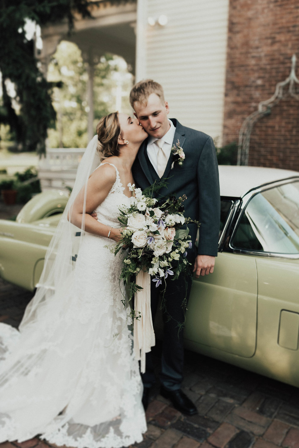 Champaign Illinois Wedding Rentals Spruce Rentals Lauren Fotography Fancy Florals by Nancy Adore Bridals Bremer Jewelry