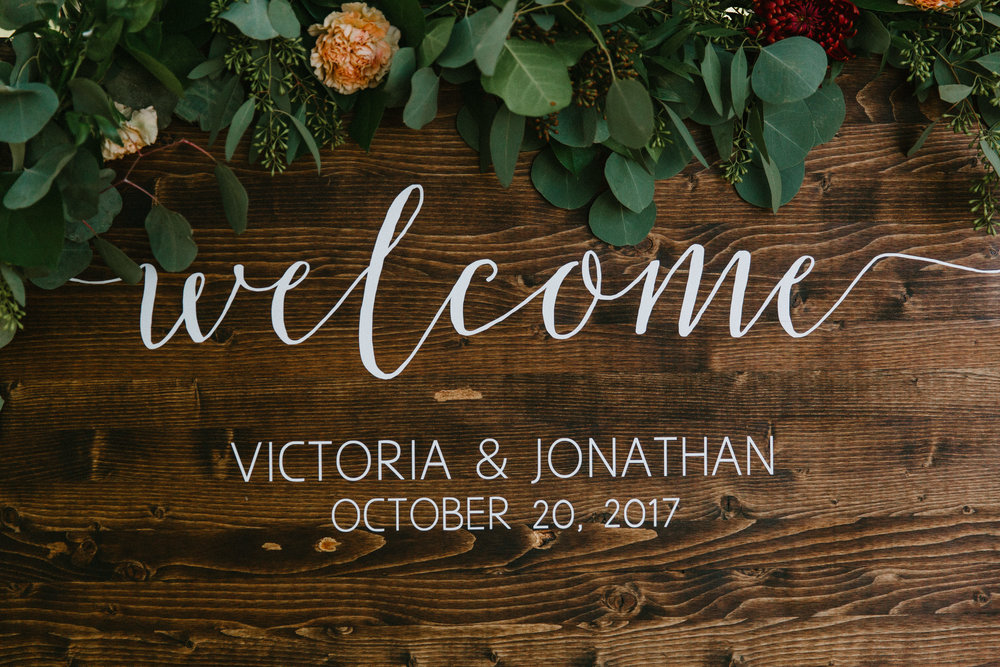 Victoria & Jon - Spruce Rentals, Pear Tree Estates, Pollen & Pastry, Embellish Lettering, Letters from Linds and more!