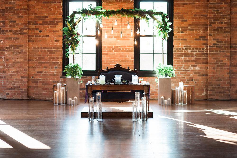 Spruce Rentals - Le Fleur Floral Design, Dash/wood, MandaKay Photography