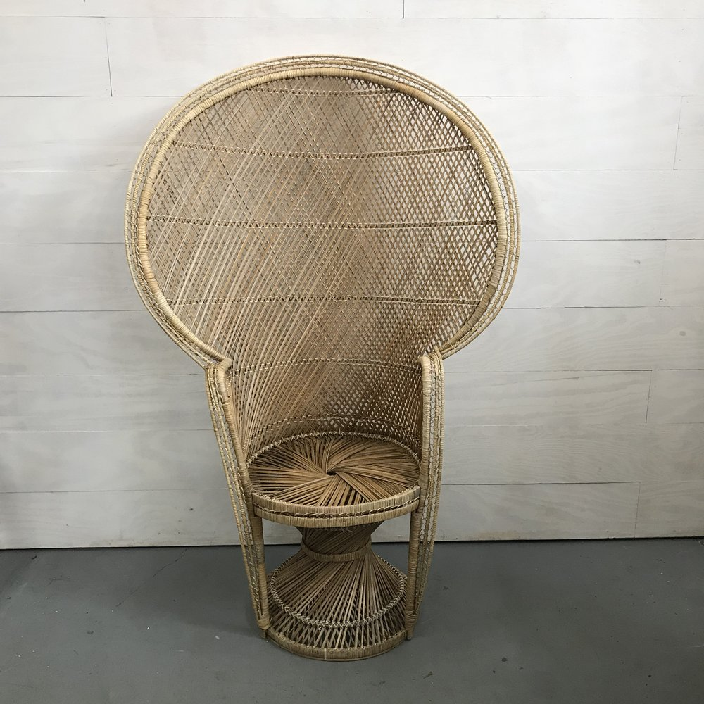 Spruce Rentals - August Peacock Chair