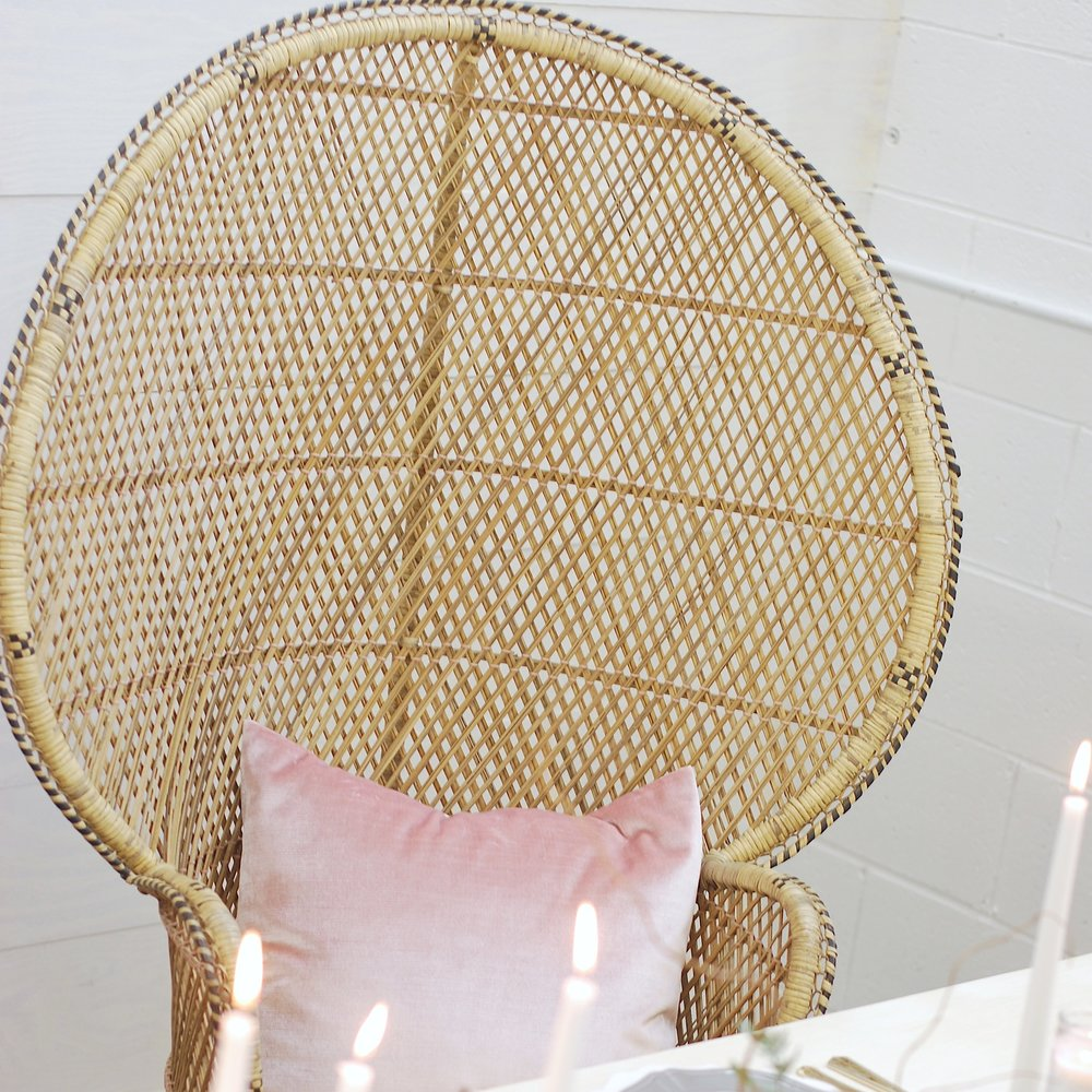 August Peacock Chair