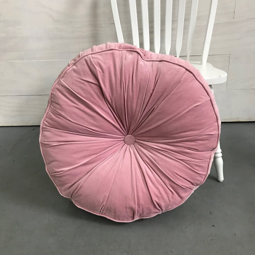 Soft Pink Floor Cushion