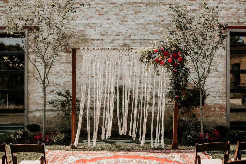 Wedding Inspiration:  Southwest Boho at The Cannery with Dani Lang Photography, Flowers & Leather Events, Ivory Aisle Rentals, Vera & Buck Floral Studio, Native Rest, 1350 Northvintage, Bremer Jewelry & Spruce Rentals