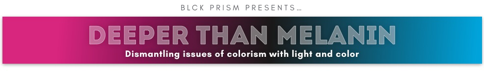 An online art exhibition exploring colorism with lighting and color
