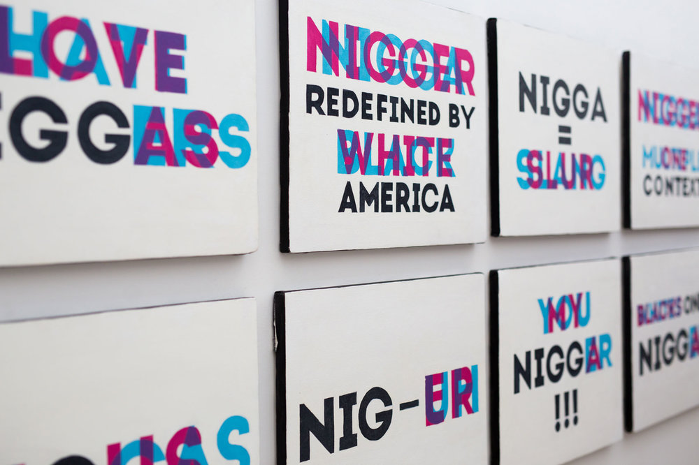 Improper Noun art collection by Andre Woolery