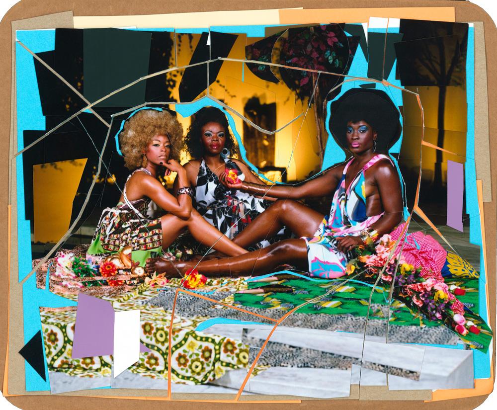 Mickalene-Thomas-Le-déjeuner-sur-l'herbe--Les-Trois-Femmes-Noires.jpg