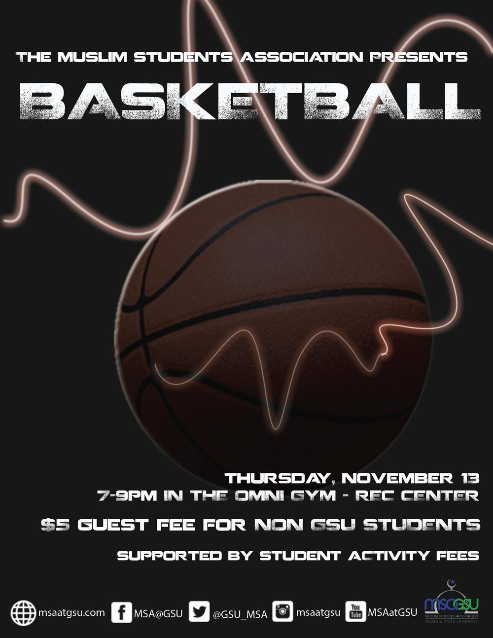 MSA at GSU Basketball