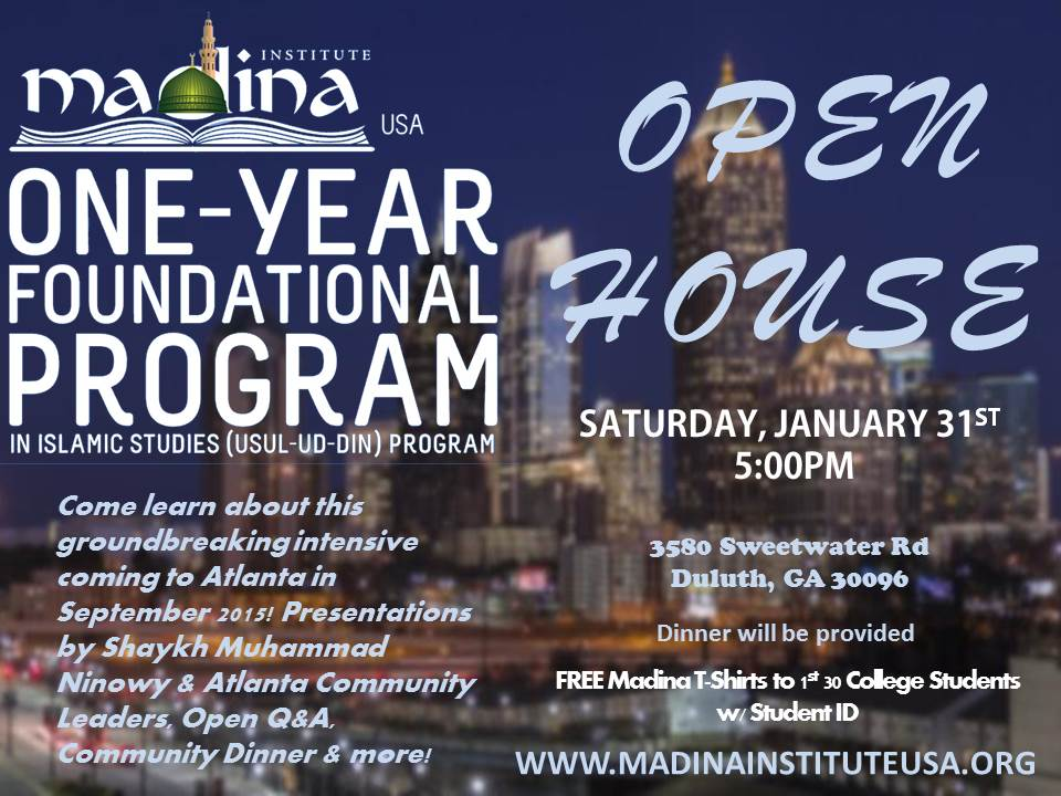Madina Institute Open House