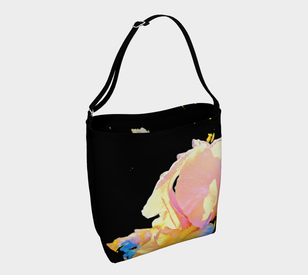 Iris Rainbow Tote Bag