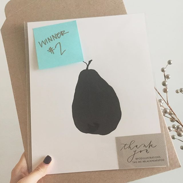 """I've picked THREE winners for the #blackpearxpod giveaway in 8""""x10""""... SIX left! Go check out my *previous post* for details! Yayyy #thanksgiving #sharethelove #giveaway #ink #painting #art #misfits #homedecor #giftideas #holiday #podillustrations #kellyleedesign"""