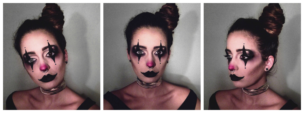 ... makeup mua grunge gothic clown diy costume ...  sc 1 st  Home Design & Diy Womens Scary Clown Costume - Home Design