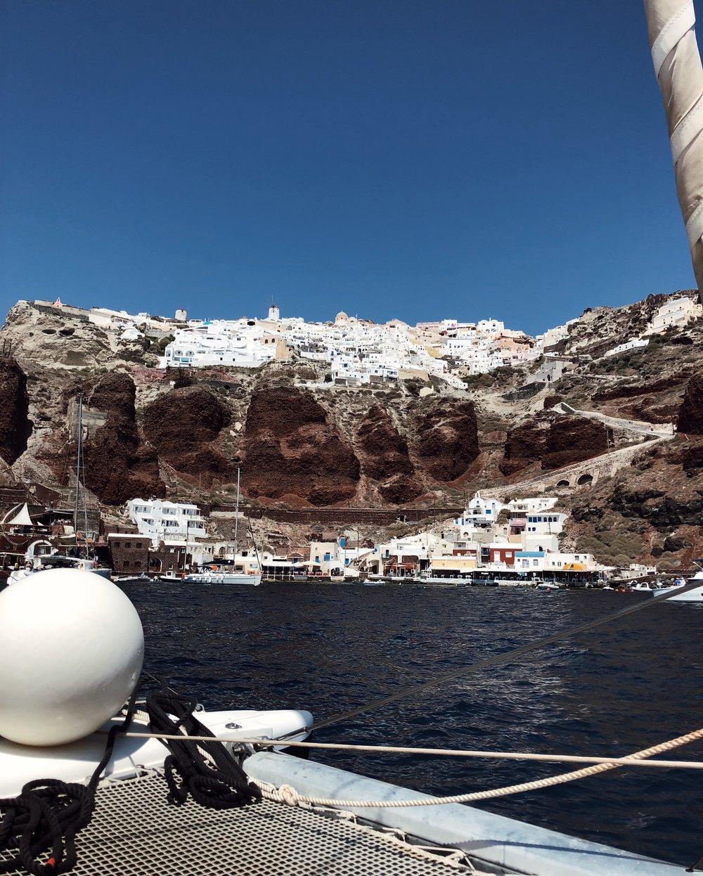 Oia & Amoudi Bay