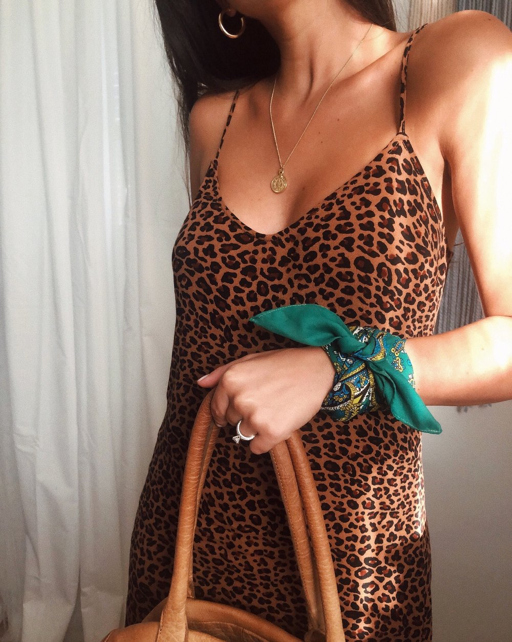 how to style a scarf fashion accessories styling outfit 1 scarf 8 ways leopard print dress trend