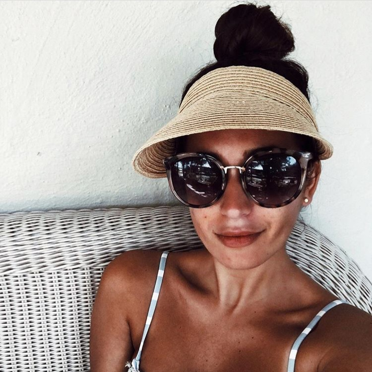 all time favorite products the weekend gypsy sun visor straw hat summer accessories