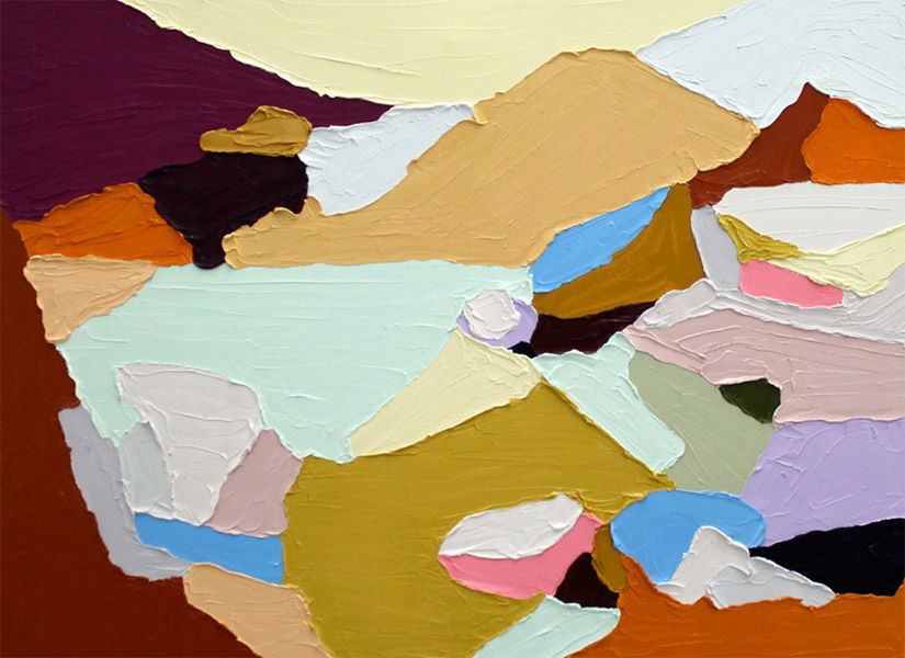 untitled I 2012, 30 x 22 inches, oil on canvas