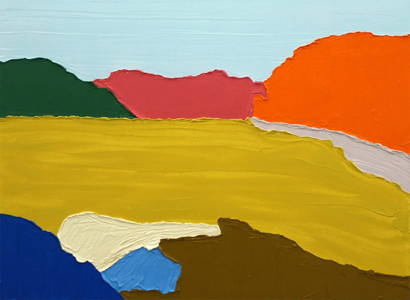 untitled III 2012, 30 x 22 inches, oil on canvas