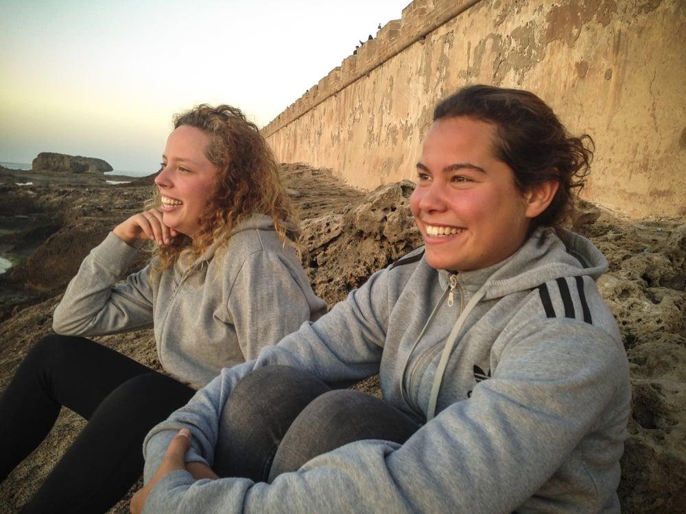 Cecilia and Raquel