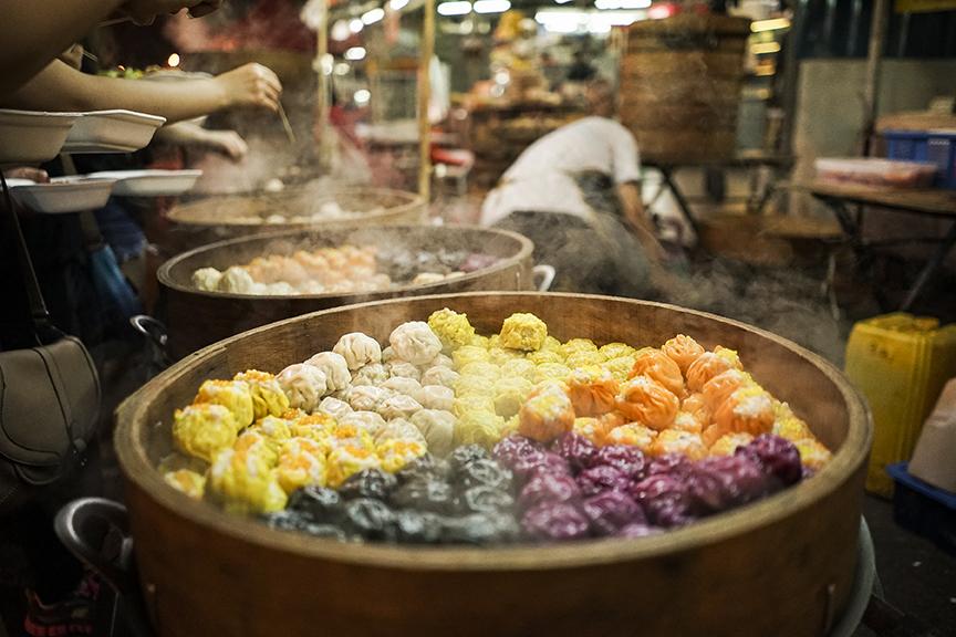 Street food on Jalan Alor