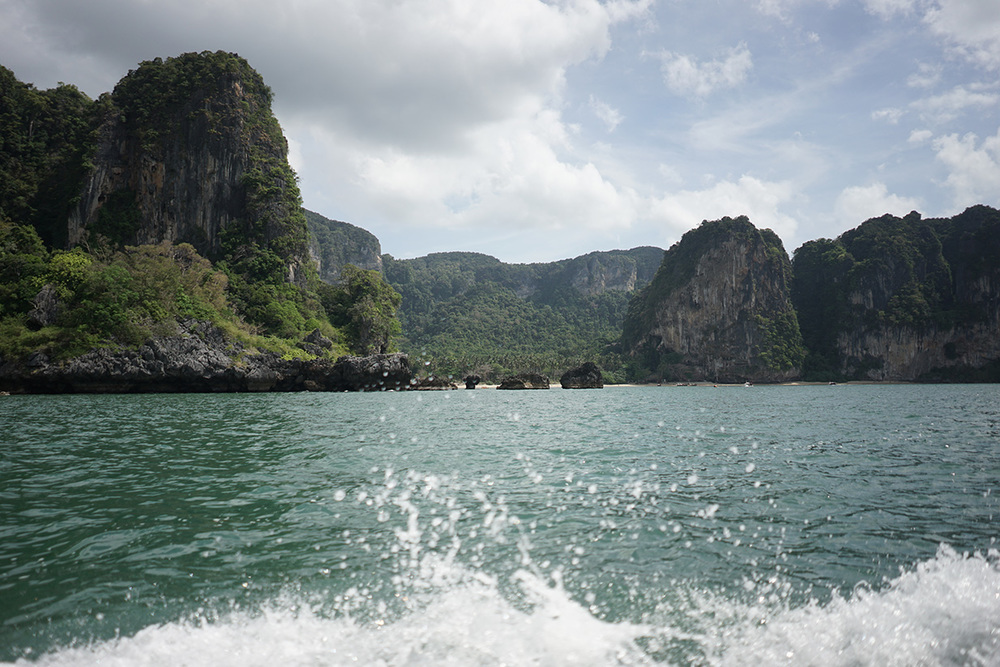 On the way to Railay