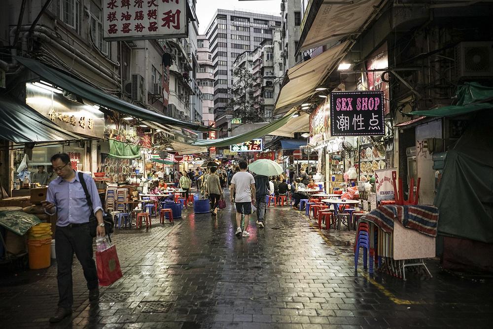 Night Market on Temple St.