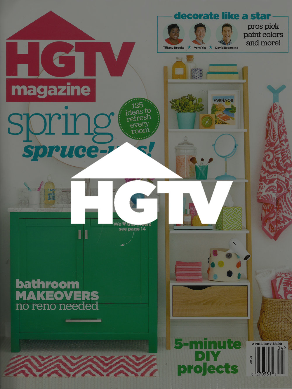 Noz Design | HGTV Magazine April 2017