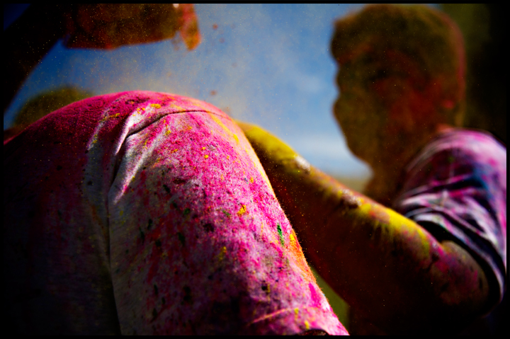 Holi Festival celebrations on WKU's South Lawn on Saturday, March 15, 2014. Photos by Brian Powers