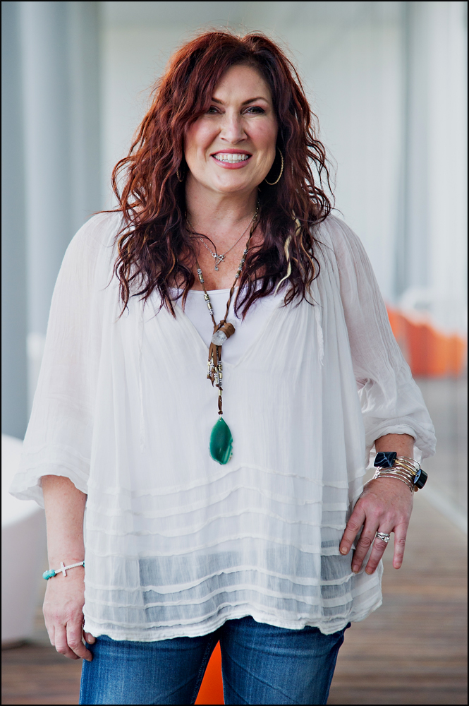 Jo Dee Messina photographed at the Music City Center in Nashville on Saturday, June 7, 2014. Photo by Brian Powers