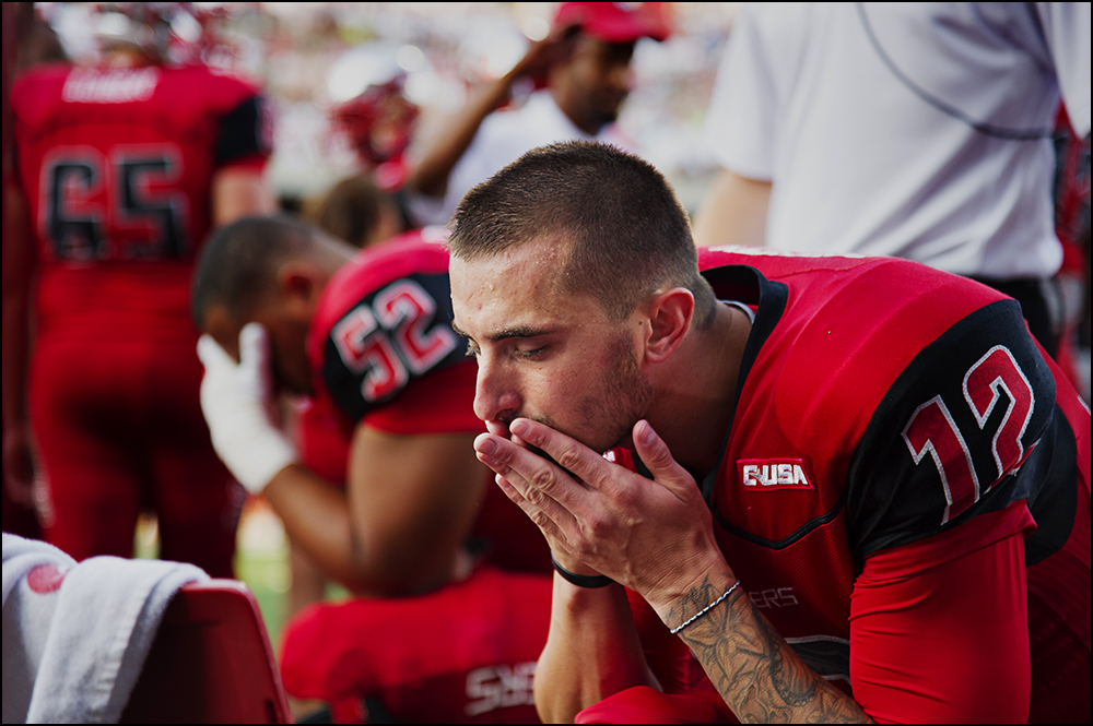 Aug 29, 2014; Bowling Green, KY, USA; [CAPTION] at Houchens Industries-L.T. Smith Stadium. Mandatory Credit: Brian Powers-USA TODAY Sports