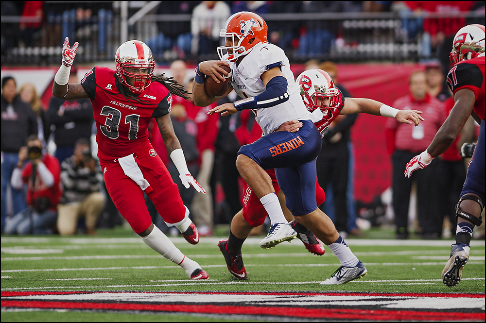 Nov 8, 2014; Bowling Green, KY, USA; [CAPTION] at Houchens Industries-L.T. Smith Stadium. Mandatory Credit: Brian Powers-USA TODAY Sports