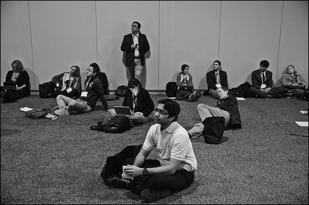 "Nashville, TN - ISC 2015 - ""Attendees, speakers and awardees "" during Opening Session (Pleanary Session I) at the International Stroke Conference at the Music City Center here today, Wednesday February 11, 2015.  The conference is the premier meeting on the science and treatment of cerebrovascular disease from basic research to patient-based studies to larger clinical trials and population analyses in the United States. More than 4,000  experts from around the world are attending the meeting.  Photo by © AHA/Brian Powers 2015"