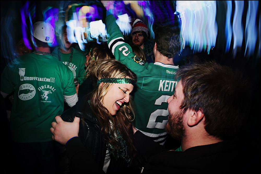 Unofficial in Chicago bar crawl on Saturday, March 7, 2015. Photos by Brian Powers
