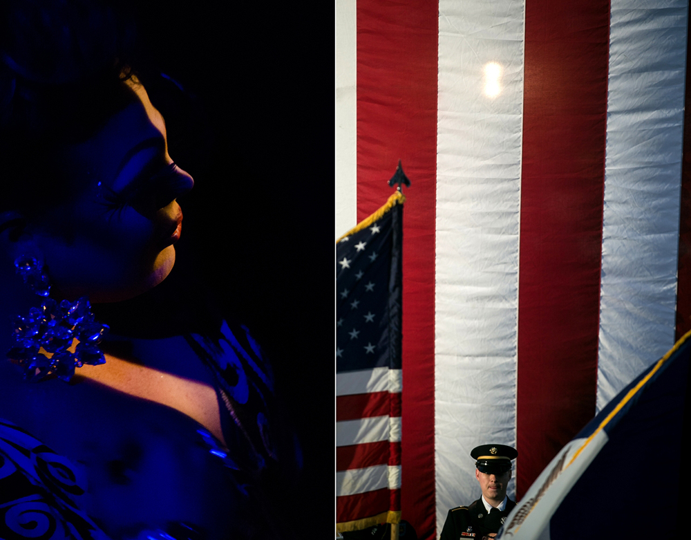 Drag Queen Janessica Jay waits to go onstage at The Garden on Friday, May 29, 2015. The Garden was the first gay nightclub in Des Moines which is celebrating 31 years in business. Brian Powers/The Register