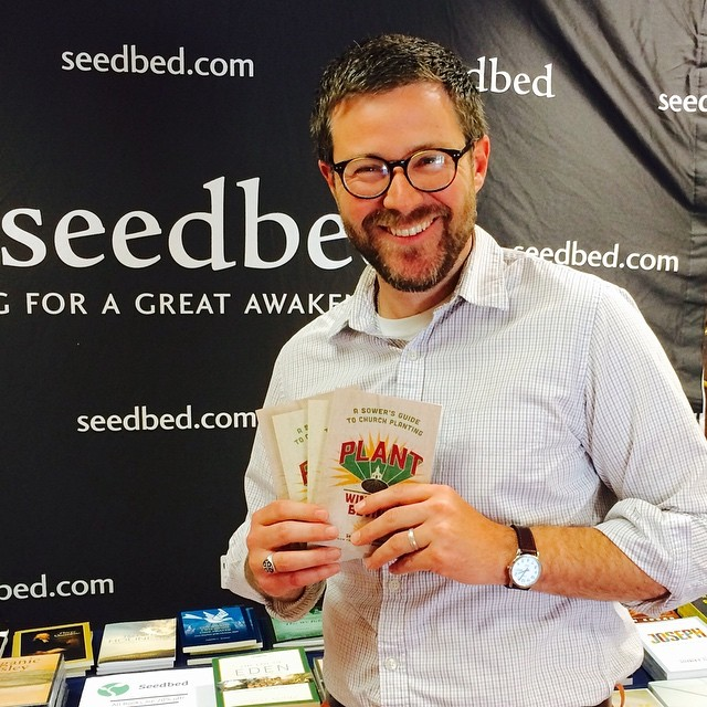 Winfield at a recent book launch of Plant: A Sower's Guide to Church Planting.