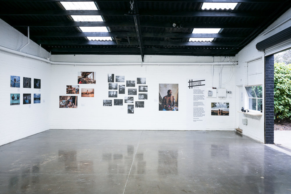 'Where I Lay My Head' exhibition at Hillvale Gallery, Brunswick. Photo: Benjamin Petit.
