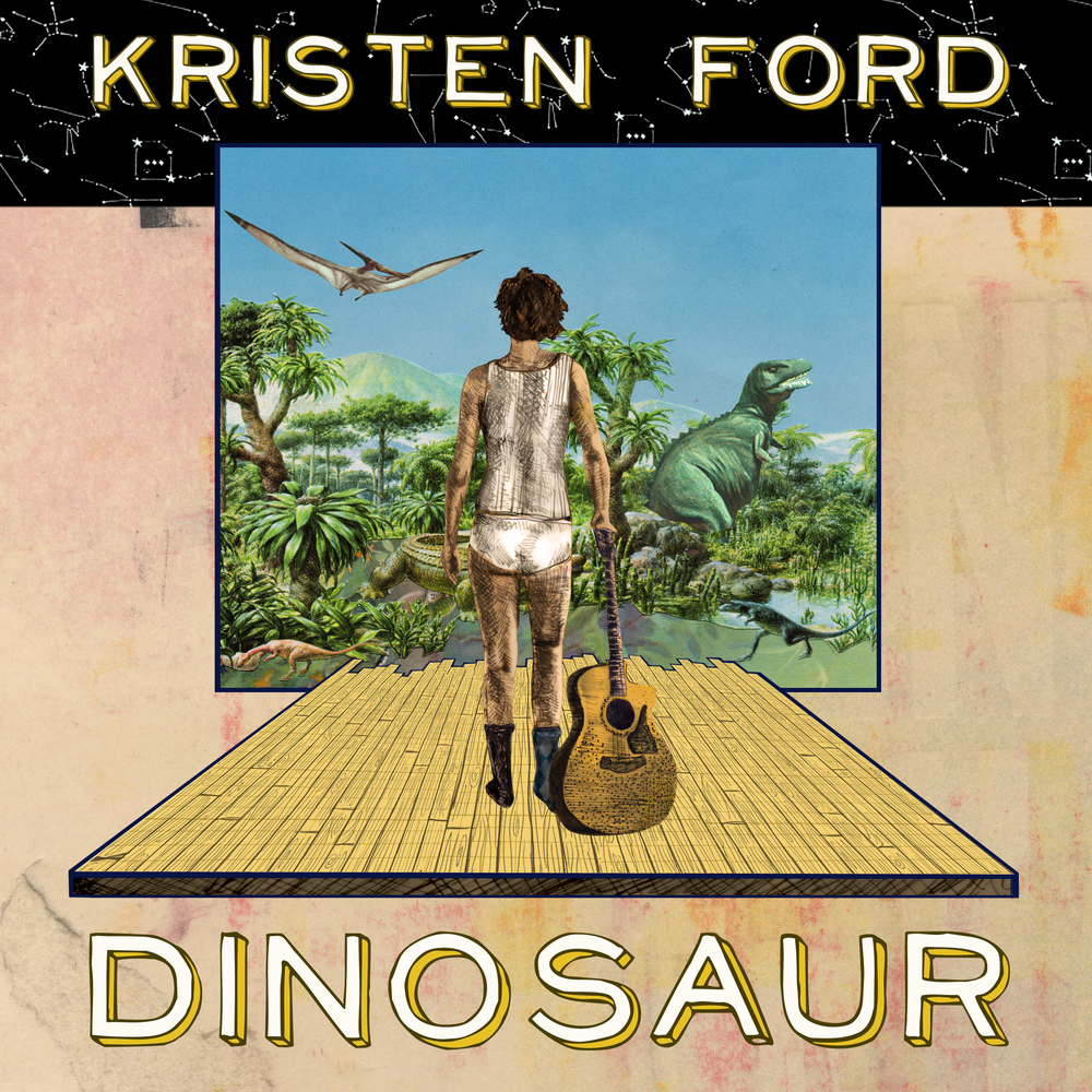 Kristen co-produced Dinosaur along with many other of her records.