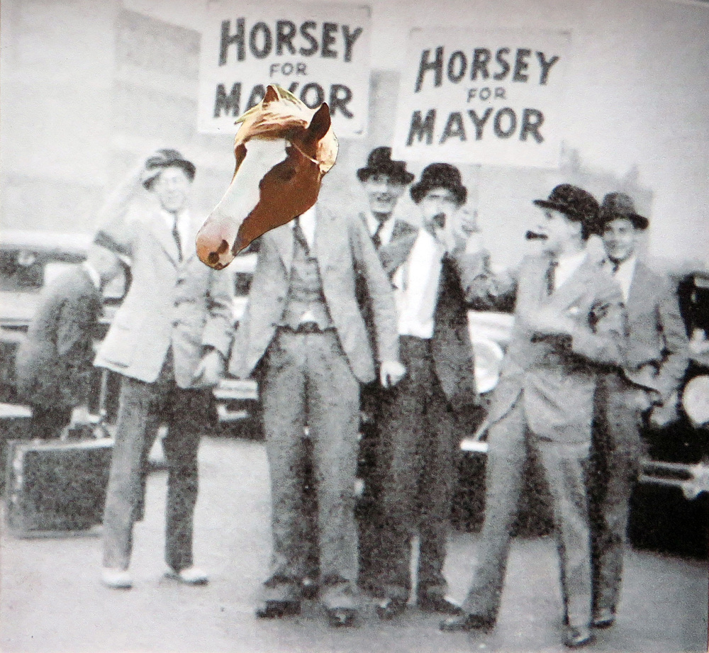 Horsey for Mayor!