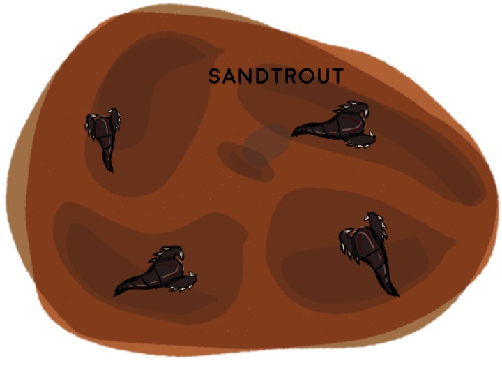 2) Sandtrout Develop
