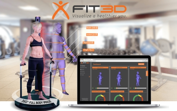 fit3D redding body scanner